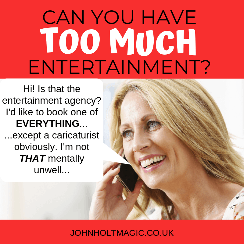 Can You Have TOO MUCH Entertainment at Corporate Events?