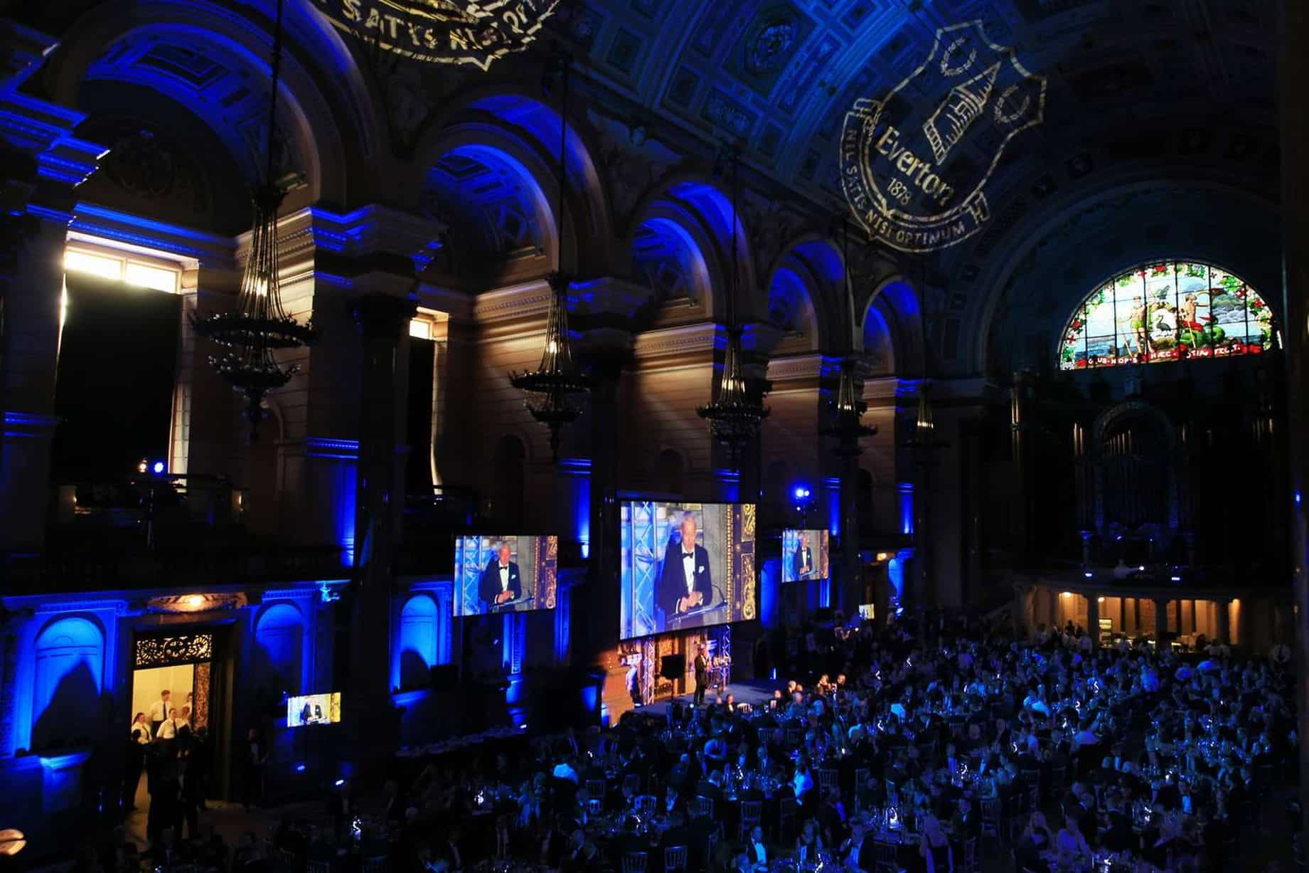 Everton Magician End of Season Awards at St George's Hall, Liverpool